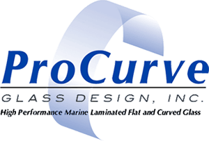 Custom Bent Tempered Marine Auto Glass Manufacturer