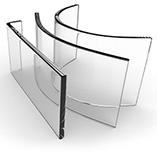 Custom Curved Glass Designs