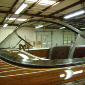Custom Bent & Curved Glass for Boats
