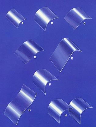 Custom Laminated Bent Glass Windows & Designs