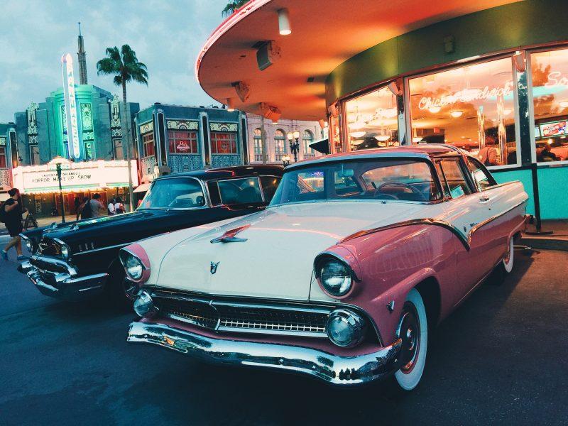 Classic car in Orlando