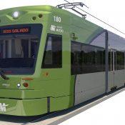 Glass design in Tempe Streetcar light rail